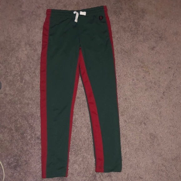 look good shoes sale running shoes largest selection of Green and red jogger sweatpants